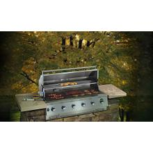 """See Details - Electrolux ICON™ Outdoor Kitchens 51"""" LP Built-In Gas Grill"""