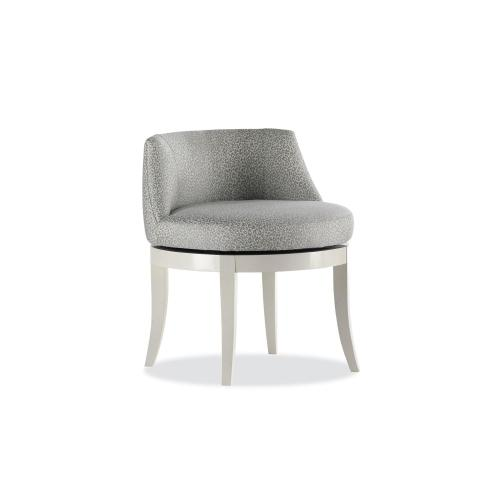 Jacqueline Memory Swivel Chair