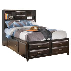 Kira Full Storage Bed With 7 Drawers