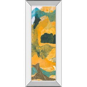 """Mountain Shapes I"" By Carolyn Roth Mirror Framed Print Wall Art"