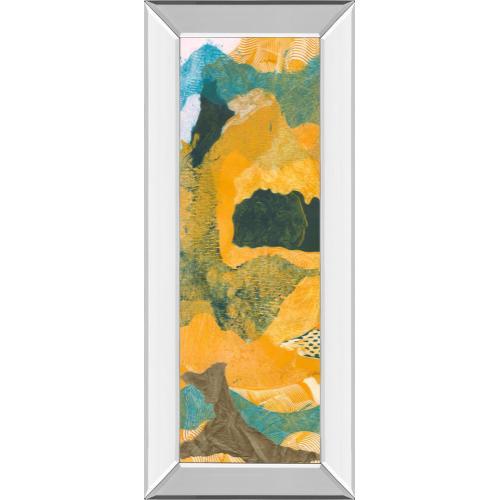 "Classy Art - ""Mountain Shapes I"" By Carolyn Roth Mirror Framed Print Wall Art"