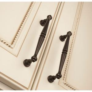 Top Knobs - Edwardian Pull 3 3/4 Inch (c-c) Oil Rubbed Bronze