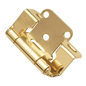Semi-Concealed Cabinet Hinge (2-Pack) Product Image