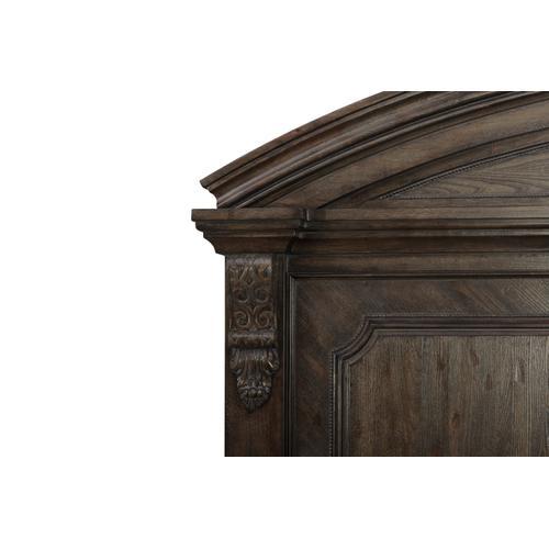 Vintage Salvage King Chambers Panel Bed
