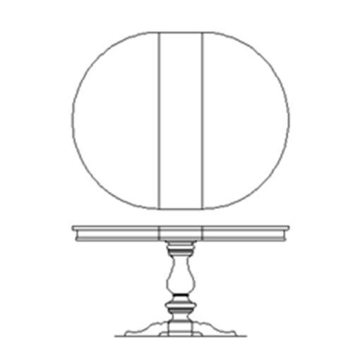 Liberty Furniture Industries - Pedestal Table Set