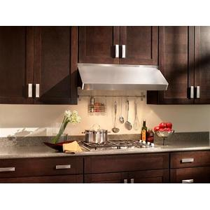 """UP27 - 48"""" Stainless Steel Pro-Style Range Hood with internal/external blower options, 300 to 1650 Max CFM"""