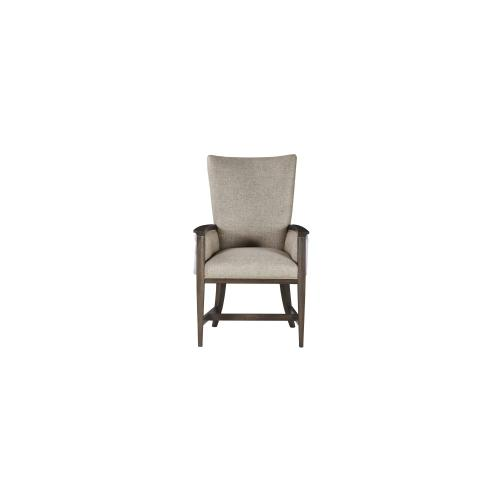 WoodWright Racine Upholstered Arm Chair