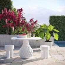 View Product - Tulum Ivory Concrete Dining Table