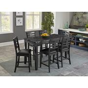 Canaan Counter Height 4-Pack, Grey Product Image