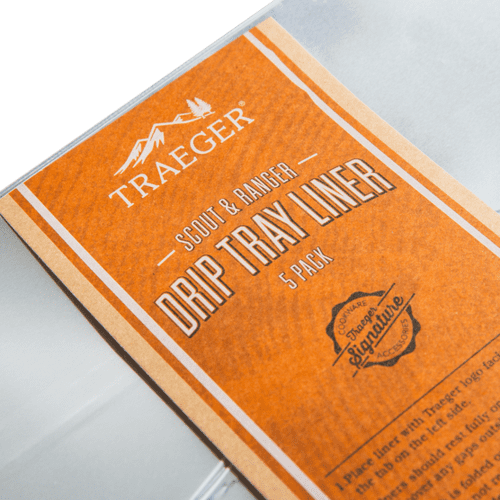 Traeger Drip Tray Liners - 5 Pack - Scout & Ranger Grill