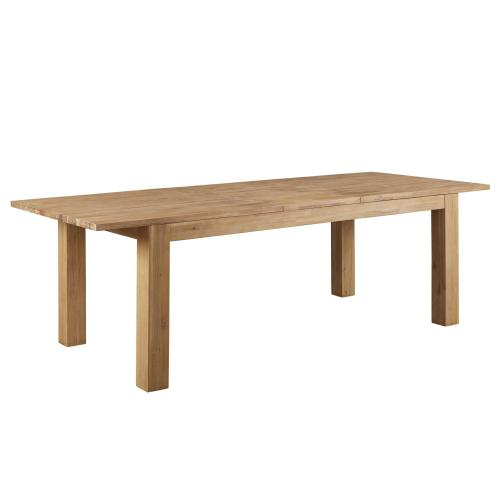 "Bedford Butterfly Dining Table w/ 20"" Ext., Brushed Smoke"