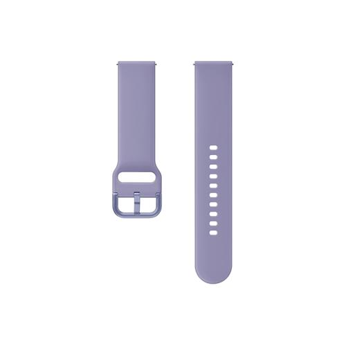Samsung - Sport Band for Galaxy Watch Active2, Violet
