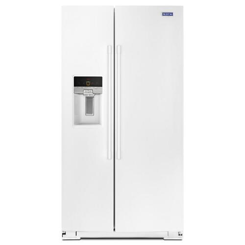Gallery - 36- Inch Wide Side-by-Side Refrigerator with External Ice and Water- 26 Cu. Ft.