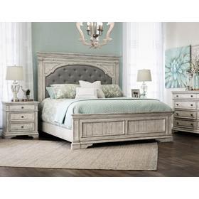Highland Park - White 4-Piece King Set (King Bed/DR/MR/NS)
