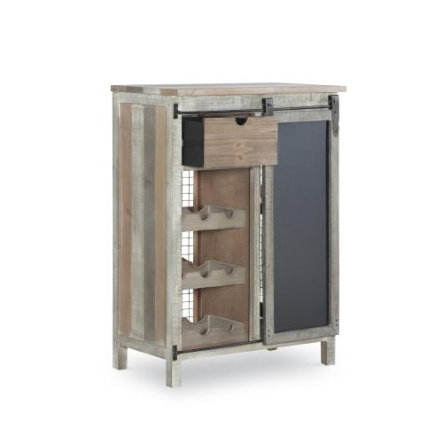 Sliding Door and 1-drawer Wine Cabinet, Multi