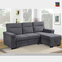 Sectional W/sofa Bed & Reverse Chaise