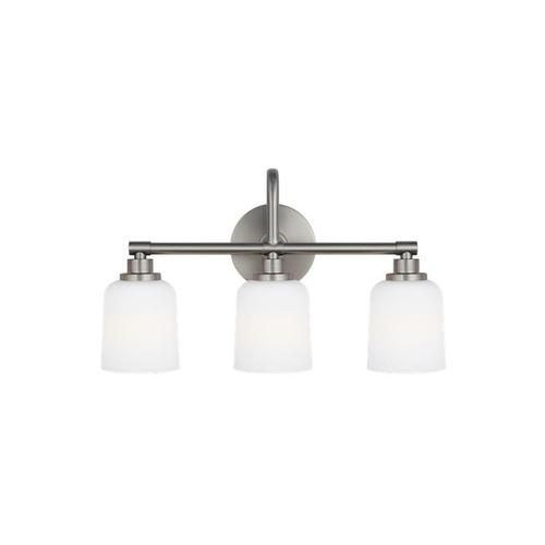 Reiser 3 - Light Vanity Satin Nickel