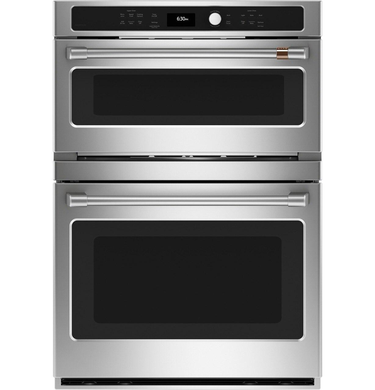 Cafe Appliances30 In. Combination Double Wall Oven With Convection And Advantium® Technology