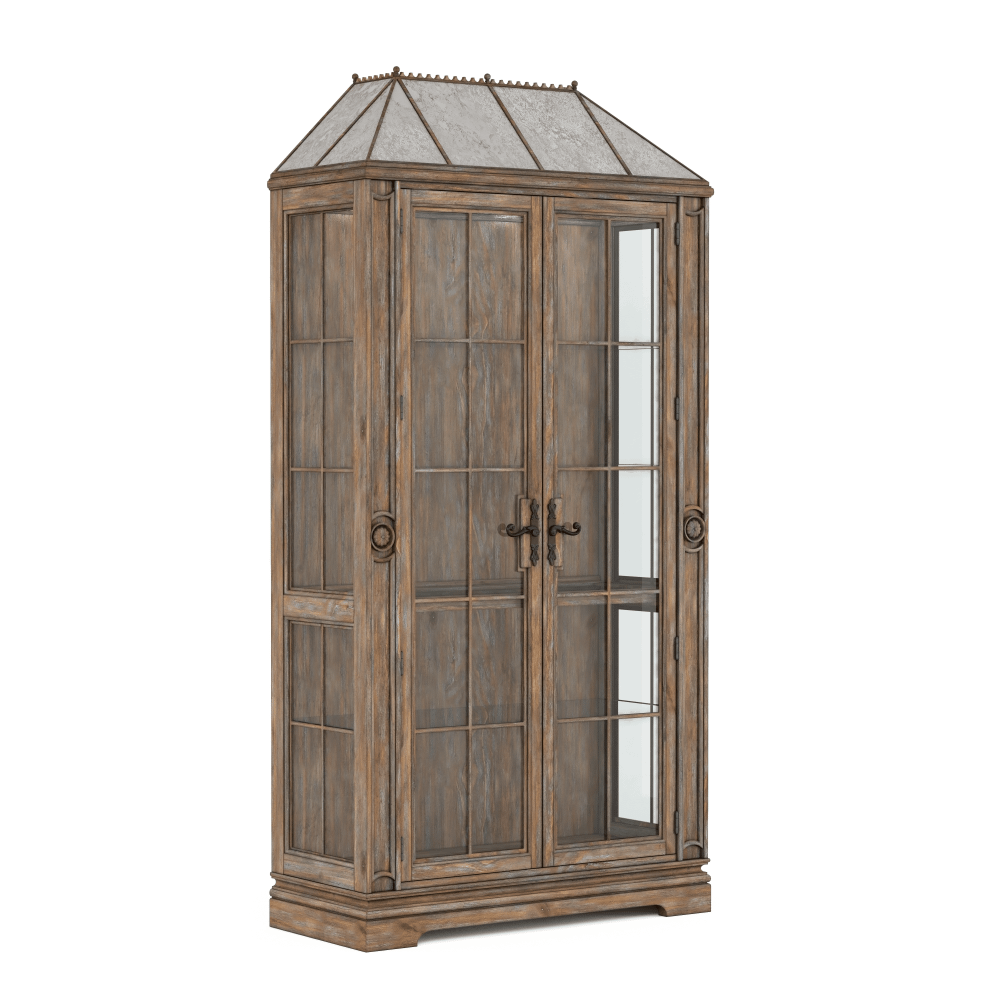See Details - Architrave China Cabinet