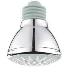 """See Details - Relexa Ultra 100 Shower Head, 4"""" - 5 Sprays, 2.5 Gpm"""