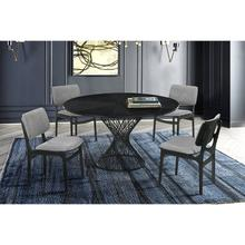 Cirque Lima 5 Piece Black Dining Set