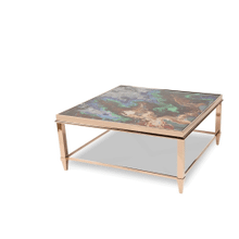 Mystique Square Cocktail Table Rose Gold