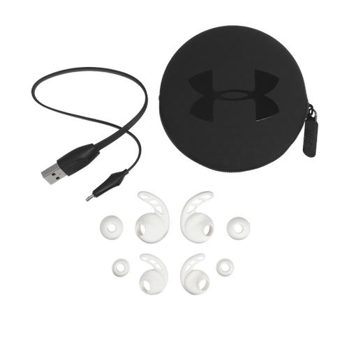 UA Sport Wireless PIVOT Secure-fitting wireless sport earphones with JBL technology and sound