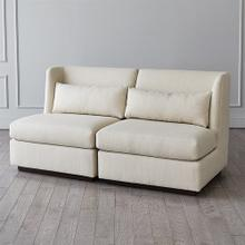 Alder Sectional Chair-Moonstone-Left Arm