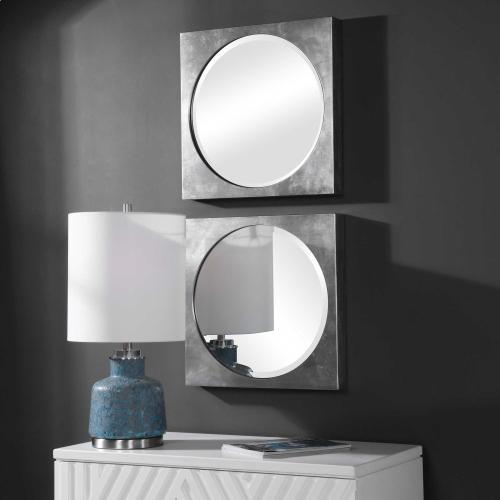 Aletris Square Mirrors, S/2