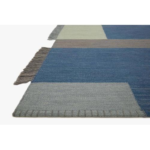 MAR-03 ED Blue / Grey Rug