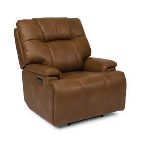 Garrett Power Recliner with Power Headrest & Lumbar