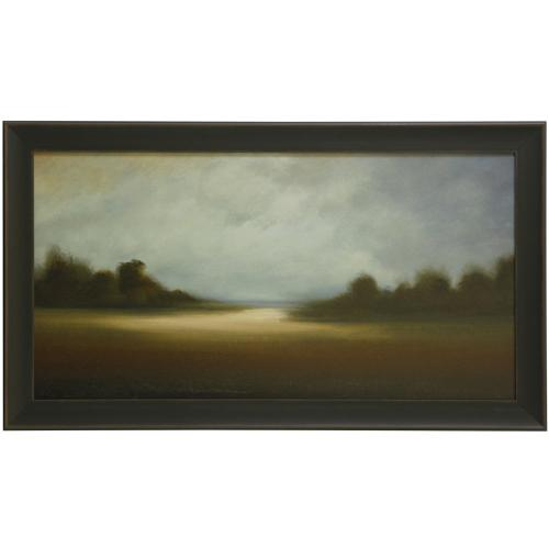 Style Craft - PEACEFUL VISTA  30in X 52in  Made in the USA  Textured Framed Print