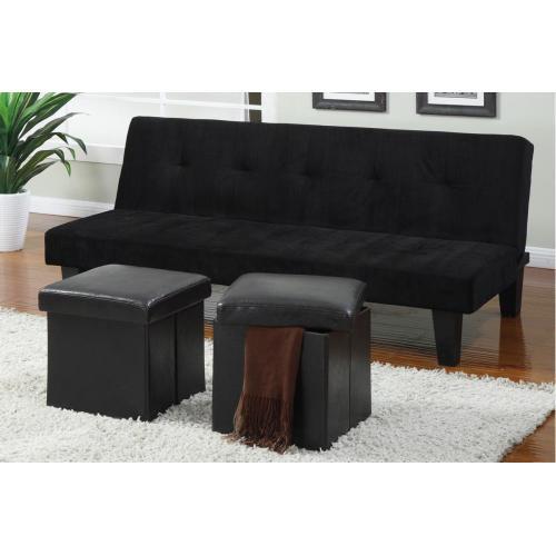 Gallery - Adjustable Sofa + 2pcs Ottoman