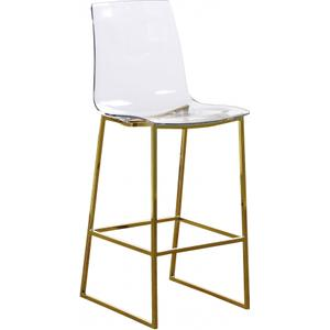 "Lumen Gold Counter Stool - 16.5"" W x 20"" D x 42"" H"