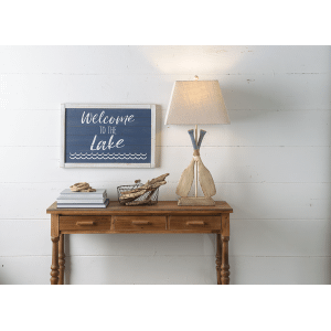 """""""Welcome to the Lake"""" Wall Decor"""