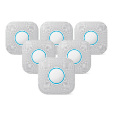 Nest Protect 2nd Gen Wired 6 Pack