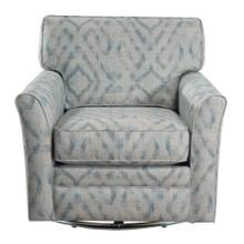 Swivel Chair, Fully Upholstered.