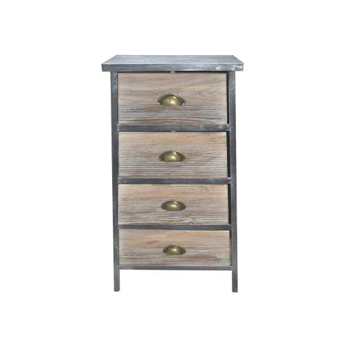 """Emerald Home Everly Ac240-70 Four Drawers Cabinets 31"""" Height"""