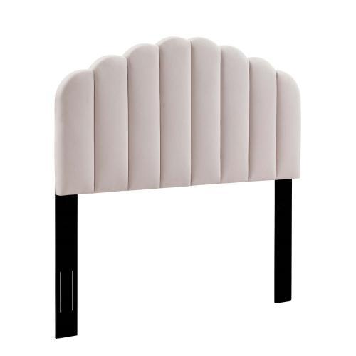 Modway - Veronique Full/Queen Performance Velvet Headboard in Pink