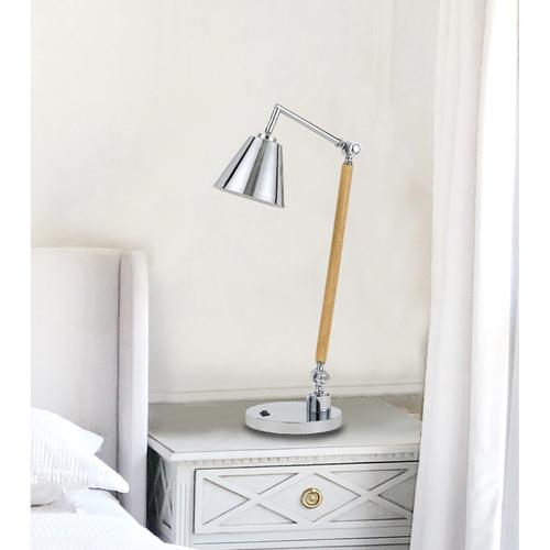Cal Lighting & Accessories - 60W Perry Desk Lamp