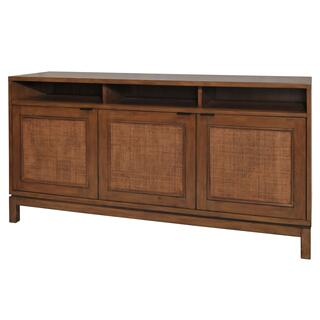 Branigan Rattan Panels Sideboard 3 Doors, Natural