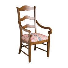 See Details - Alton Ladderback Arm Chair