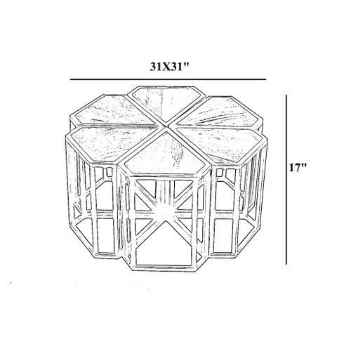 "Petal PTL-001 17""H x 31""W x 31""D"