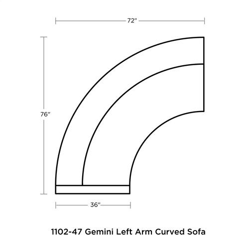 Gemini Sectional
