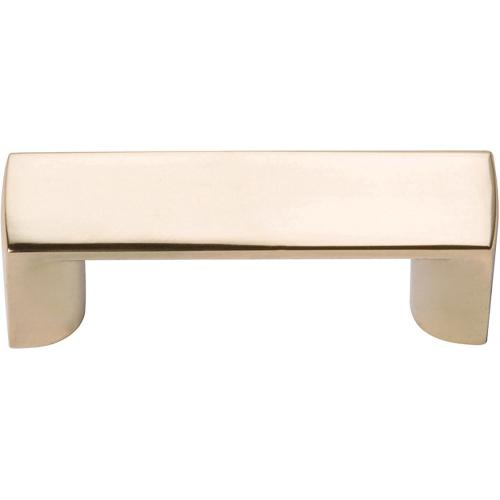 Tableau Squared Pull 1 7/16 Inch (c-c) - French Gold