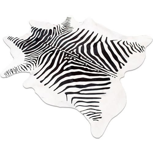 Zebra Print - Hair On Hide - Print - Hair On Hide