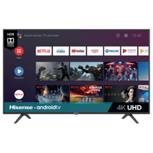 "50"" Class - H6590 Series - 4K UHD Hisense Android Smart TV (49.5"" diag)"
