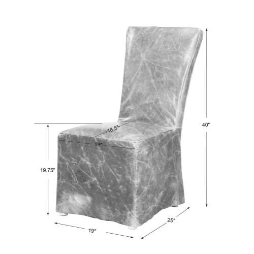 Oaklyn Armless Chair, 2 Per Box