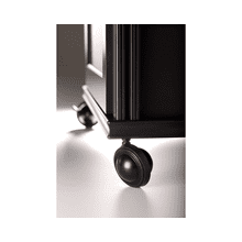 See Details - Salamander Saturn Wheels, Set of 6, Satin Black