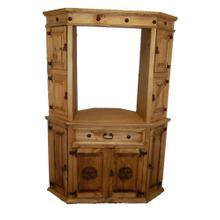 See Details - Hutch for Corner TV Stand